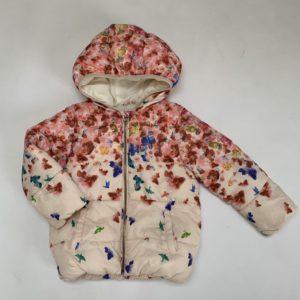 Gewatteerde jas flowers Zara 3-4 jr / 104