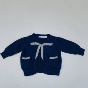 Gilet donkerblauw Blue Bay baby 62