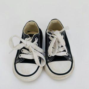 Schoentjes zwart Converse maat 19