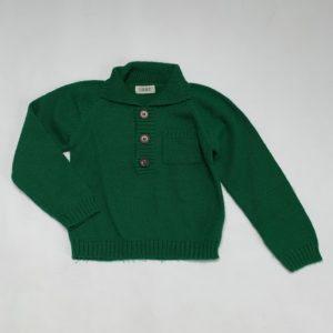 Trui knit groen Maan 4jr / 104