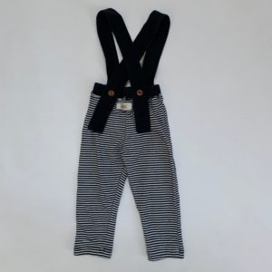 Salopette broekje stripes Omho 12-18m