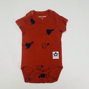 Romper hearts Mini Rodini 56/62