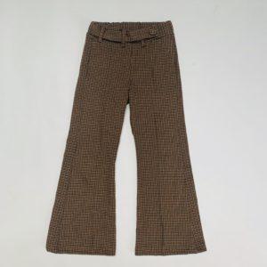 Flared pants ruitjes Zara 7jr / 122