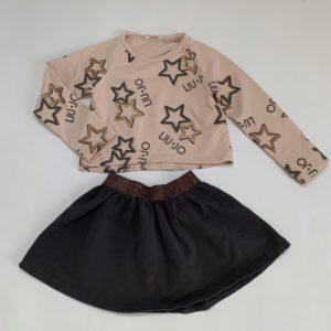 Setje crop sweater + rokje stars Liu Jo 3jr/98