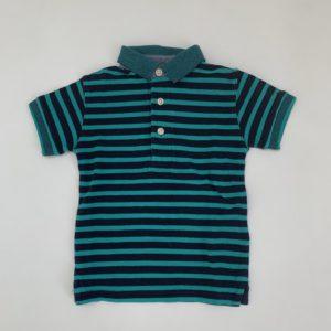 Polo stripes green Next 12-18m / 86