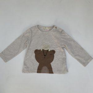 Longsleeve bear Zara 9-12m / 80