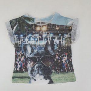 T-shirt festival dog River Island 0-3m