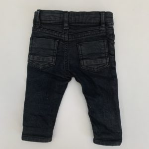 Broekje leather look River Island 0-3m