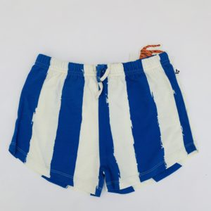 Short retro blue stripes Noé & Zoë 10jr
