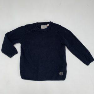 Sweater donkerblauw knitwear Zara 2-3 jr / 98