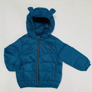 Donsjas met berenoortjes donkerblauw JBC 80