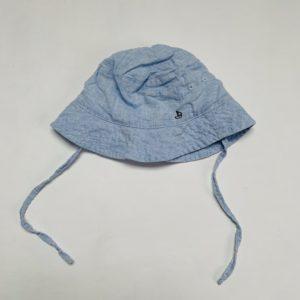 Zonnehoedje lichtblauw H&M 4-6m / 68