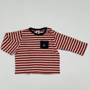 Longsleeve stripes Petit Bateau 12m / 74