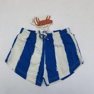 Retro short blue stripes Noé & Zoë 6jr
