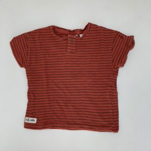 T-shirt red Zara 9-12m / 80