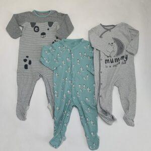 3x pyjama Next 12-18m / 86