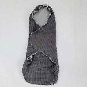 Omslagdoek / voetenzak wafelprint Flore