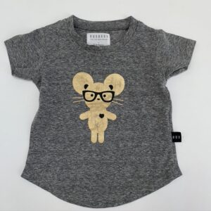 T-shirt mouse with glasses Huxbaby 12-18m
