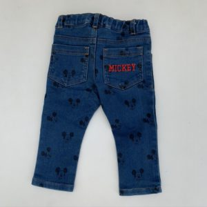 Denim broek Mickey Disney 80