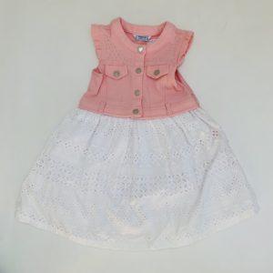 Denim pink kleedje Mayoral 7jr / 116
