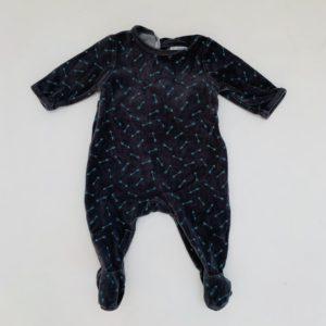 3x pyjama met voetjes badstof La Redoute 3m / 62