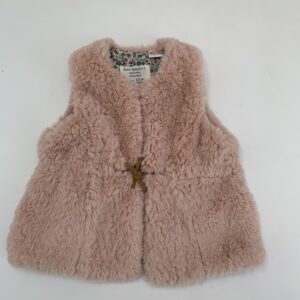 Bodywarmer teddy pink Zara 12-18m / 86