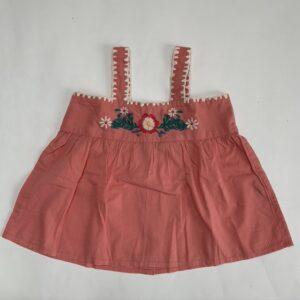 Topje/tuniek embroidery sleeveless Louis Louise 2jr