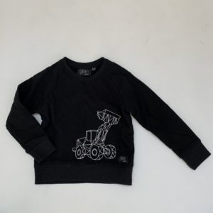 Sweater graafmachine Grey kids clothing 4-5jr