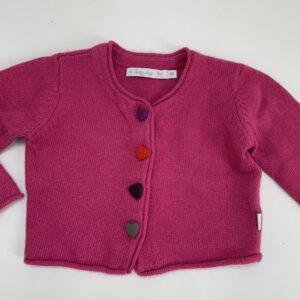 Gilet pink hartenknoopjes Bluebay 86