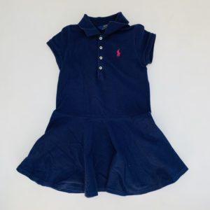 Kleedje donkerblauw Ralph Lauren 5jr