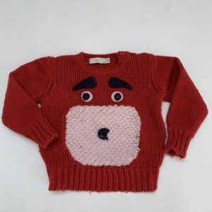 Gebreide sweater dog Stella Mccartney 2jr