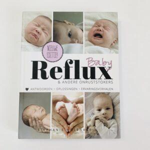 Boek refluxbaby & andere onruststokers Stephanie Molenaar