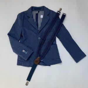 Kostuumjasje + bretellen Red & Blue 128