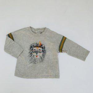 Longsleeve lion La Redoute 9m / 71