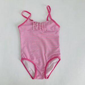 Badpak roze ruit Buissonnière 4jr / 104