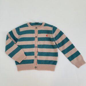 Gilet stripes Petit Bateau 24m / 86