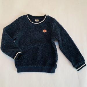 Sweater donkerblauwe teddy CKS 6jr