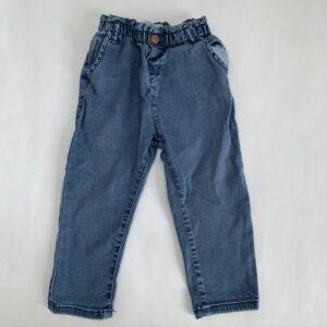 Jeansbroek met rekker Zara 92