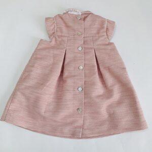 Kleedje pink reliëf Tartine et Chocolat 9m