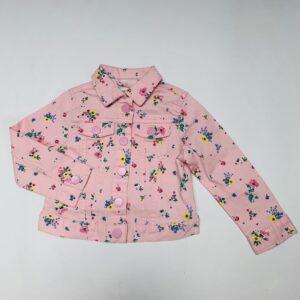 Jeansjasje flowers pink H&M 1,5-2jr / 92