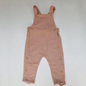 Salopet jersey pink H&M 12-18m / 86