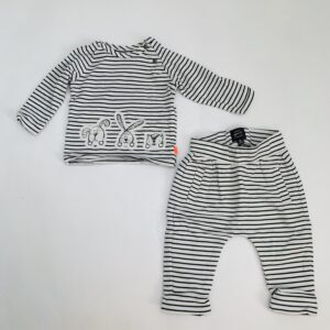 Setje animal stripes Babyface 0-2m / 50