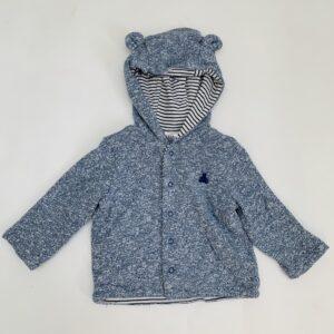 Hoodie speckled bear Babygap 3-6m