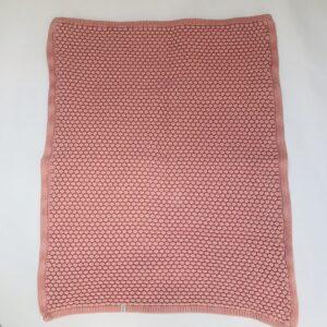 Dekentje honeycomb pink  Joolz 75 x 100