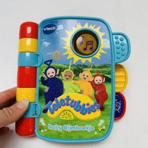 Baby rijmboekje Teletubbies Vtech