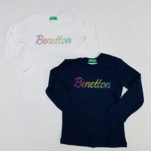 2 x longsleeve United colours of Benetton 1-2jr / 82
