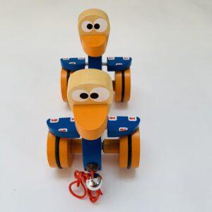 Trekspeelgoed eendjes Scratch