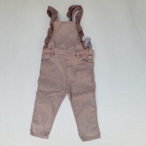 Salopet faded pink Zara 12-18m / 86