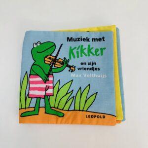 Knisperboekje kikker