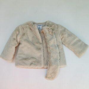 Faux fur jasje met sjaal Mayoral 3jr / 98